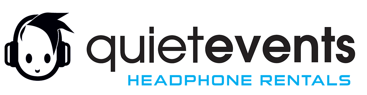 Headphone Party Rental Service for Quiet Clubbing Parties and Silent Disco Experiences. Logo