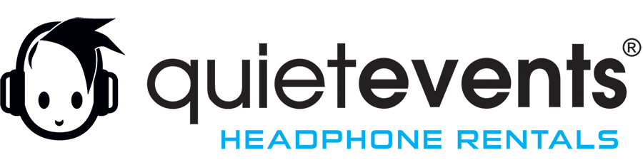 Headphone Party Rental Service for Quiet Clubbing Parties and Silent Disco Experiences. Mobile Retina Logo