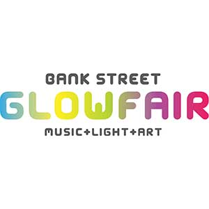 Logo of Bank Street Glowfair
