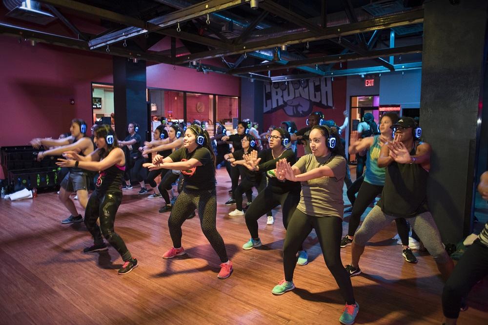 Fitness class females
